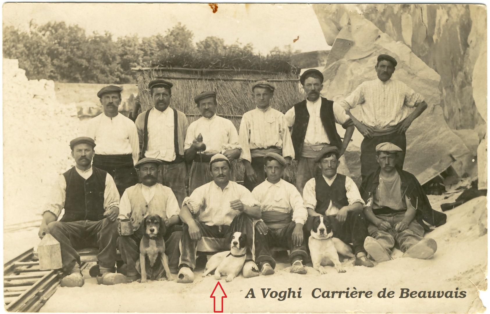 Angelo Voghi Carrier à Beauvais